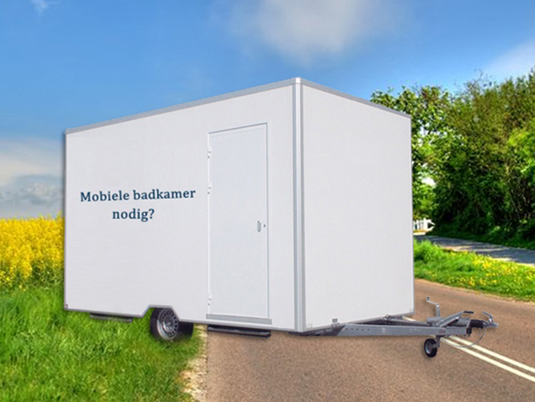 Mobiele douchecabines